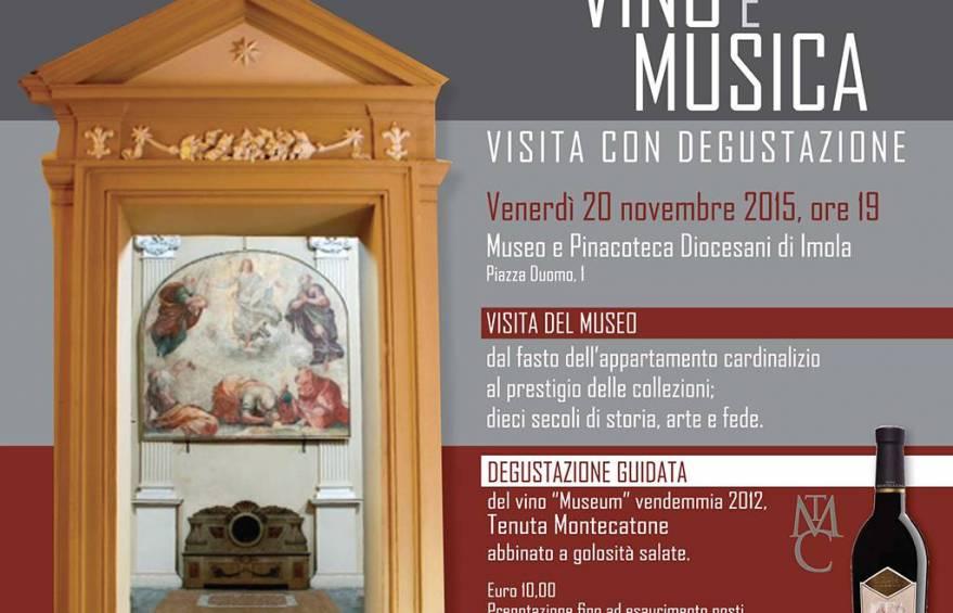 Invito Incontro di Arte, Vino e Musica