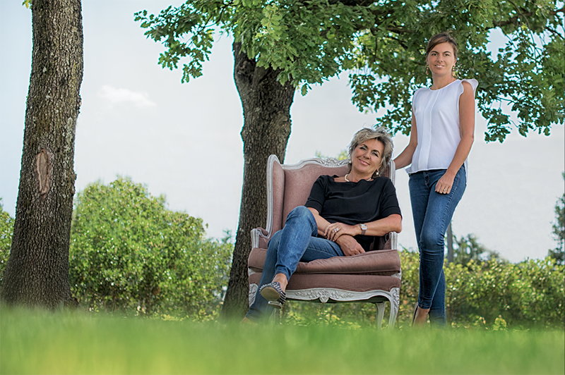 Giuliana Benedetti e Ilaria Tenuta Montecatone