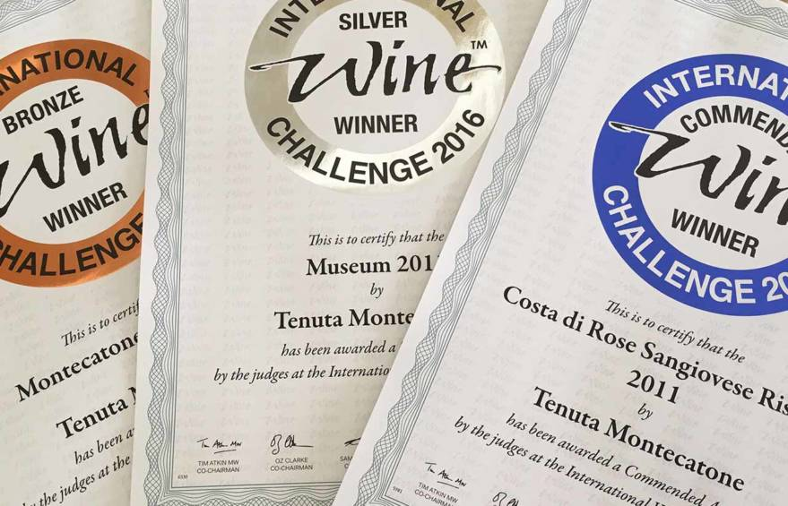 riconoscimenti International Wine Challenge 2016 awards tenuta montecatone