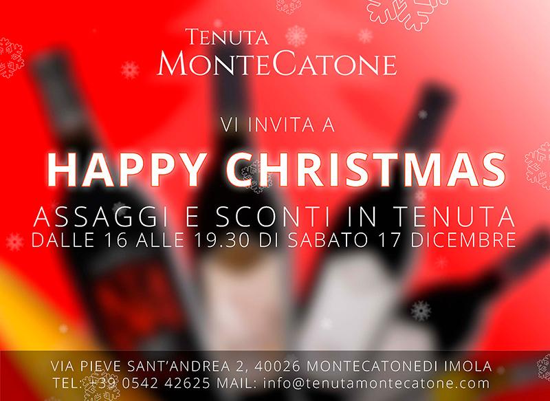 buone feste tenuta Montecatone