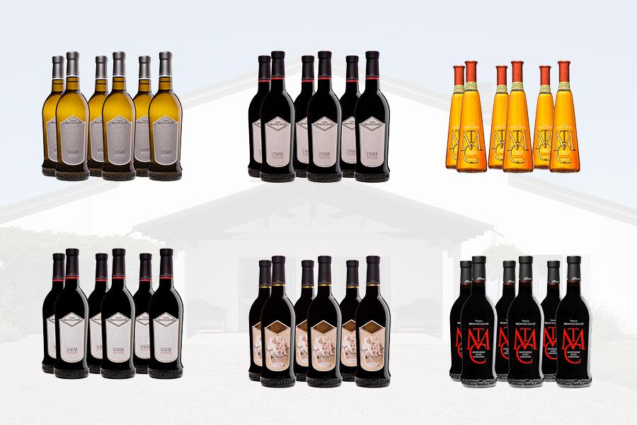 confezioni da 6 bottiglie